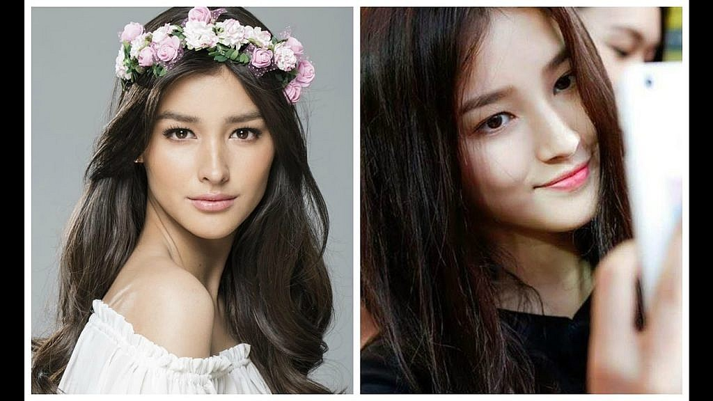Comparing Nancy of Momoland and Liza Soberano, a Filipina actress